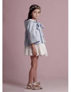 Capa azul de niña Valentina