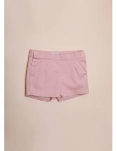 Pantalón corto bebe rosa...