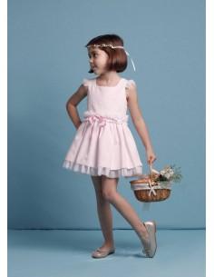 Vestido estilo bailarina rosa