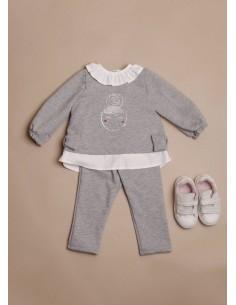 Chandal gris Nené para bebes