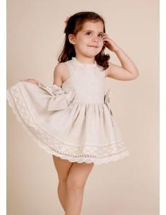 Vestido niña para arras...