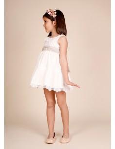 vestido para arras blanco roto